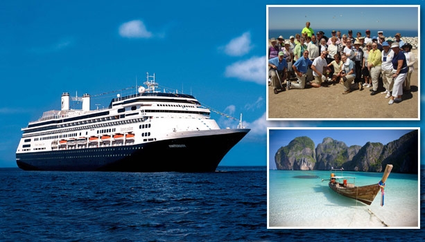 Holland America Line's 2018 World Voyage - No International Flights! Pre-Cruise Gala and Overnight! 39 Countries, 10 overnight stays and 113 days aboard ms Amsterdam!  Space is already selling out!