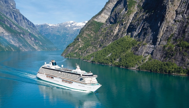 No International Flights! 2017 Crystal Cruises World Cruise roundtrip Miami.  2-for-1 fares, Pre-paid Gratuities, chauffeured private car transfers and more - Book by Jun 30th.