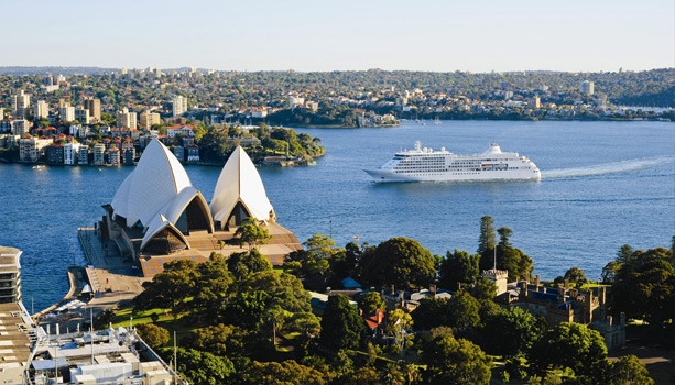 Begin the new year aboard Seabourn Odyssey to Australia and New Zealand for 16 wonderful days with experienced host, private party and more!
