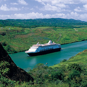 Luxury Cruise - Holland America Line, sailing to Panama Canal  for