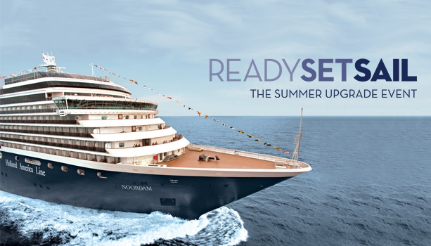 ReadySetSail Event - select 2015 destinations with FREE Stateroom Upgrade, Reduced Deposit, Shipboard Credit and more! Book a Suite for additional bonuses.