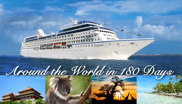 SNEAK PEEK - Reservations Open JULY 30, 2014 for Oceania Cruises 2016 World Voyage Sailing Roundtrip Miami!