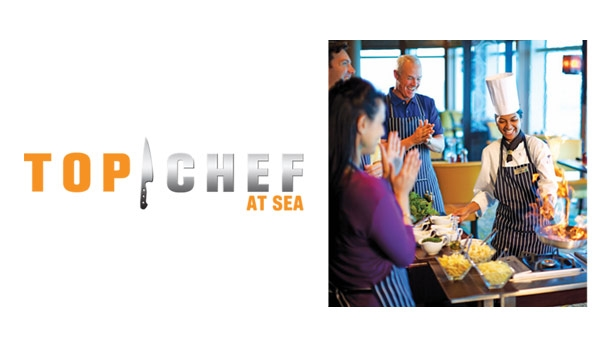 Four Top Chef Themed Cruises, Bermuda - Alaska - Caribbean & Western Europe.  Plus Pick Your Perk bonuses if booked by April 30.